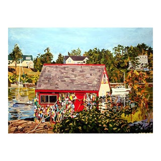 """Bailey Island, Maine"" Giclee Print For Sale"