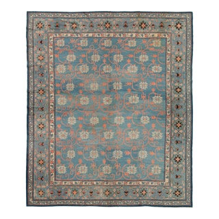 """Late 19th Century Chinese Rug - 9'3"""" X 10'11"""" For Sale"""