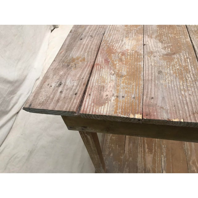 Antique Southern Primitive Work Tables - a Pair For Sale - Image 10 of 13