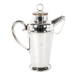 English Silver Plate Cocktail Server For Sale