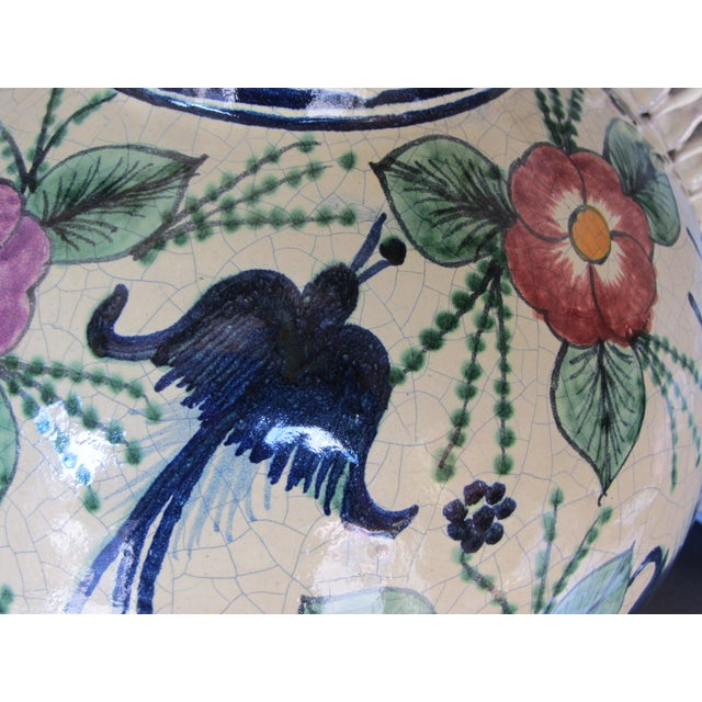 Mexican Pottery Decorative Jar - Image 6 of 9