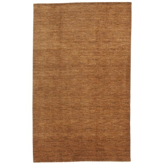 """Indian Hand Knotted Rug- 4'10"""" x 7'10"""" For Sale"""