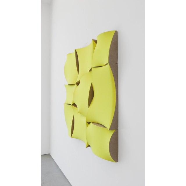 """Jan Maarten Voskuil """"Non-Fit Broken Light Yellow"""" Acrylics on Linen, 2017 For Sale - Image 4 of 10"""