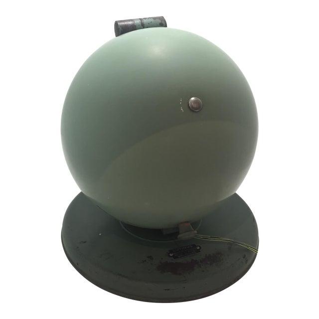 Bauhaus Style Hanau Quartz Table Lamp/Vanity Mirror For Sale