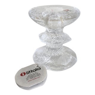 Iittala of Finland Timo Sarpaneva Festivo Candle Holder For Sale