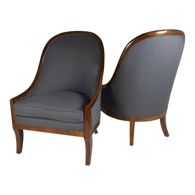 Spoon Back Chairs by Baker Furniture - Image 1 of 9