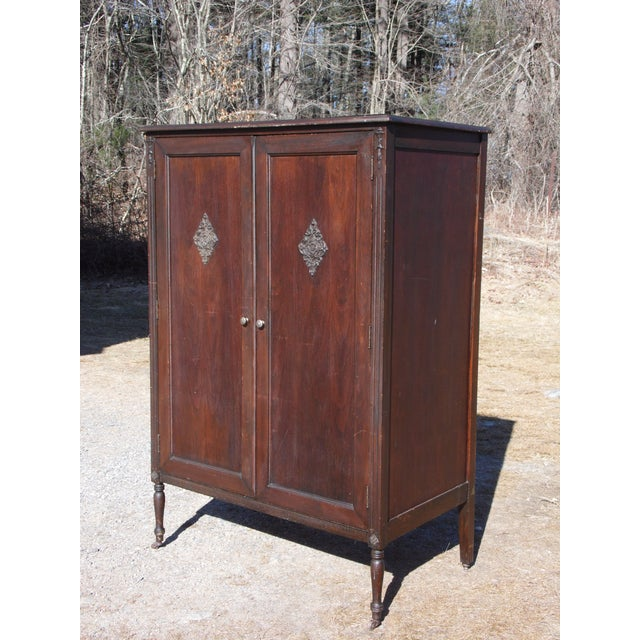 Vintage Chifferobe Wardrobe Armoire Hall Foyer Coat Closet ...