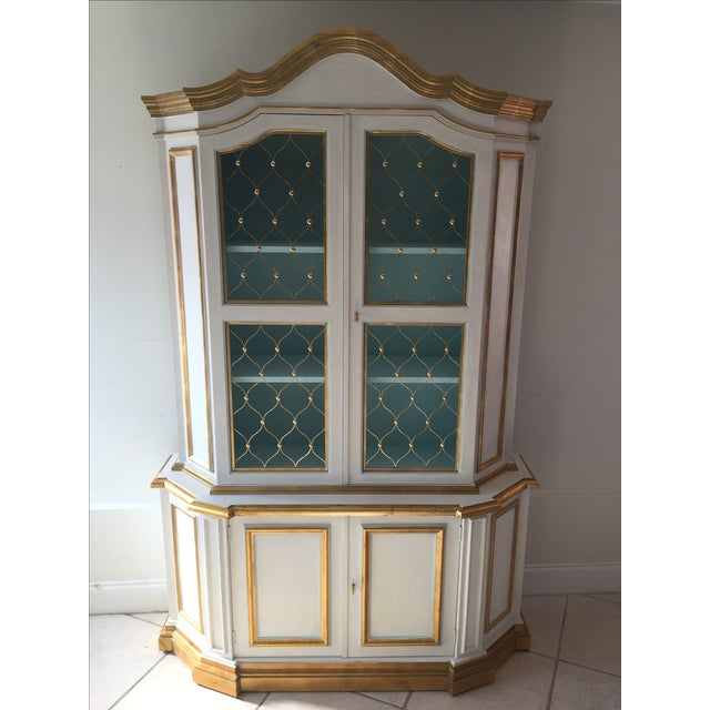 French Painted Cabinet - Image 2 of 3