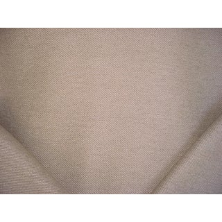 Schumacher Limoux Weave Greige French Boucle Upholstery Fabric - 3 1/4 Yards For Sale
