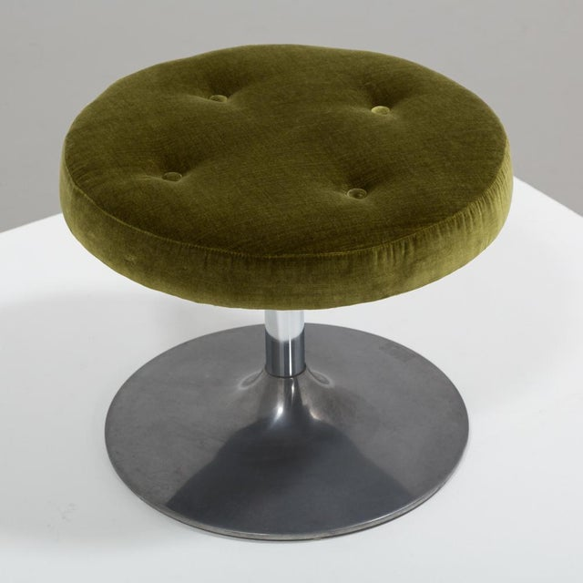 Mid-Century Modern Occasional Stool, 1960s For Sale - Image 3 of 6