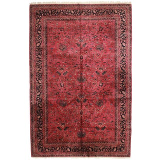 RugsinDallas Hand Knotted Wool Turkish Sparta Rug - 12′1″ × 18′2″ For Sale