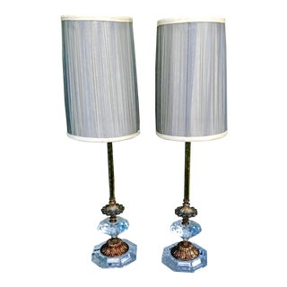 Pair of Mid-Century Lamps For Sale