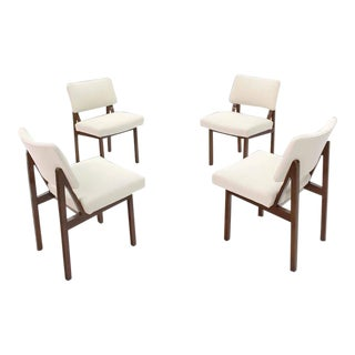 Mid-Century Modern Side Chairs- Set of 4 For Sale