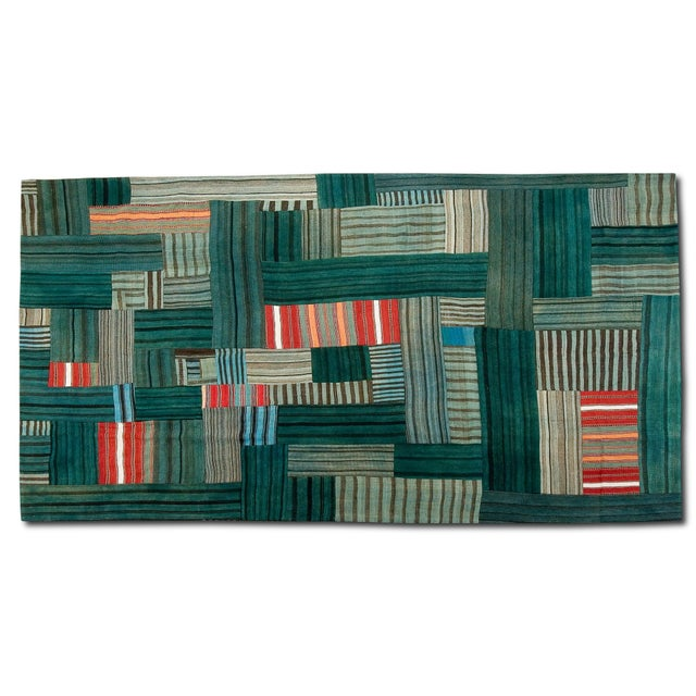 Sarreid LTD Patchwork Double Sided Rug - 8' x 12' - Image 2 of 3