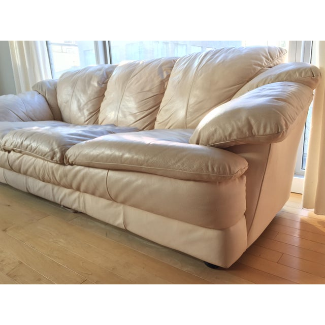 Natuzzi Italian Leather Sofa - Image 10 of 11