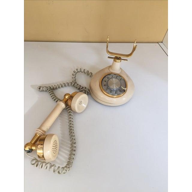 Vintage Hollywood Regency Phone - Image 3 of 4