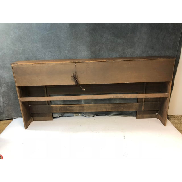 Mid Century Modern King Size Headboard - Saga by Broyhill For Sale - Image 11 of 13