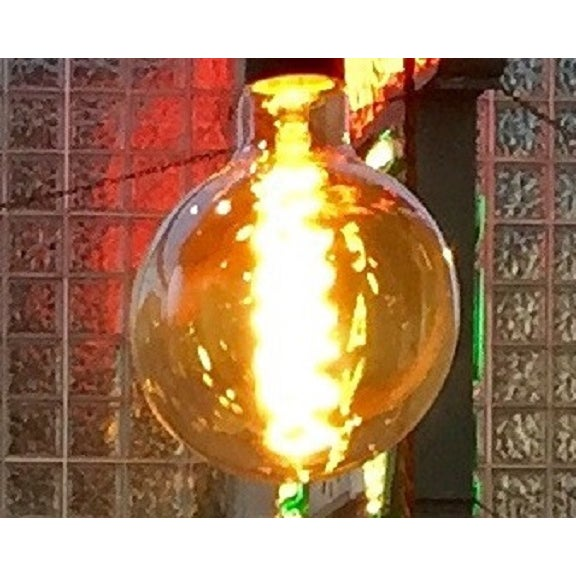 Contemporary Oversize Round Edison Bulb For Sale - Image 3 of 4