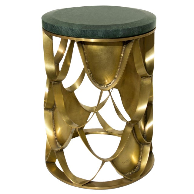 Metal Koi Side Table From Covet Paris For Sale - Image 7 of 7