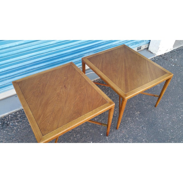 Tomlinson Mid-Century Side Tables - A Pair - Image 4 of 8
