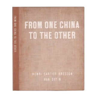 "1956 ""From One China to the Other"" Coffee Table Book For Sale"