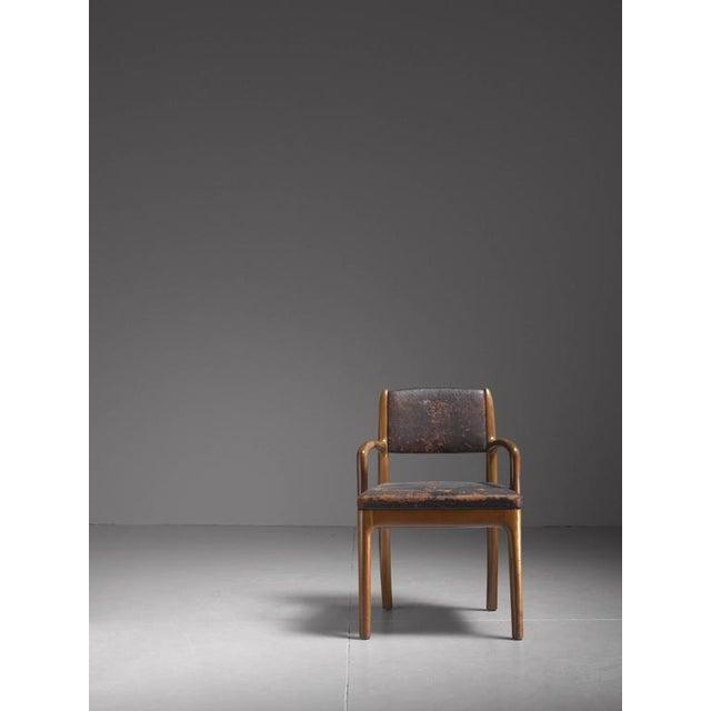 Mid-Century Modern Devon Dennett Unique American Craftsman Armchair, 1938 For Sale - Image 3 of 5