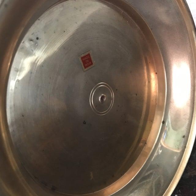Vintage Solid Brass Bowl For Sale - Image 4 of 5