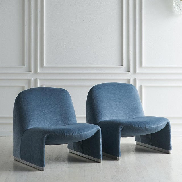 Pair of Alky Chairs by Giancarlo Piretti For Sale - Image 13 of 13