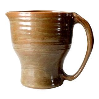 Studio Pottery Pitcher Vase Ca 2004 For Sale