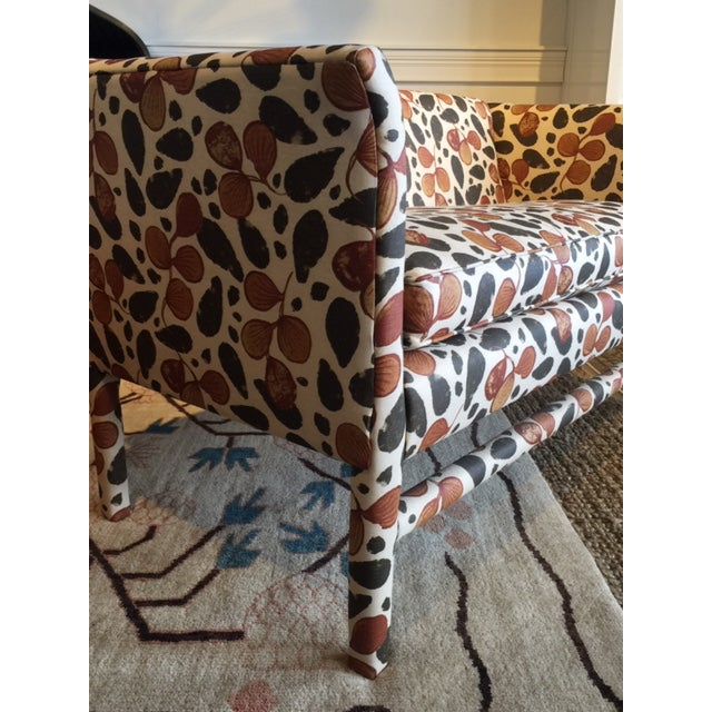 Modern Kitty Kat Upholstered Bench For Sale - Image 3 of 6