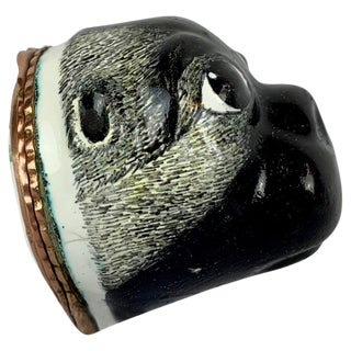 18th Century Pug Bonbonniere For Sale