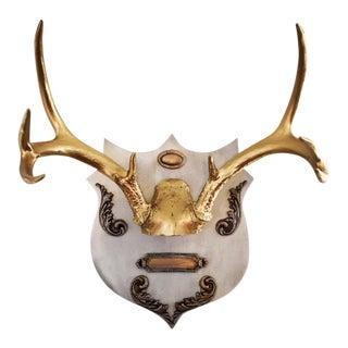 9 Point Deer Antlers Wall Mount