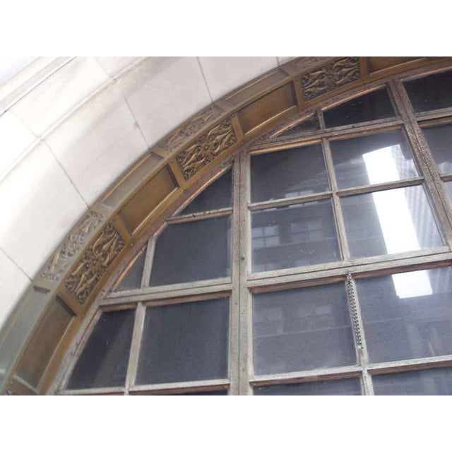 Bronze Ornate Bronze Palladian Window Transom For Sale - Image 7 of 10