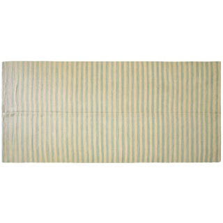 """Nalbandian - Contemporary Egyptian Striped Kilim - 6'5"""" X 14' For Sale"""