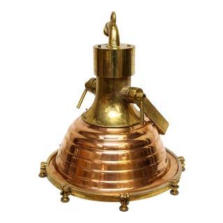 Copper & Brass Fox Light