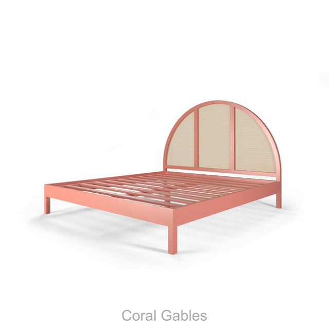 Not Yet Made - Made To Order Eva Bed - King - Coral Gables For Sale - Image 5 of 5
