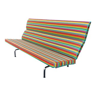 Herman Miller Eames Compact Sofa For Sale