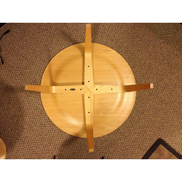 1990s Mid-Century Modern Herman Miller Eames Plywood Coffee Table For Sale In Milwaukee - Image 6 of 7