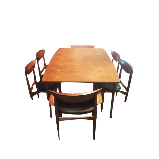 Surprising 1960S Mid Century Modern Warren C Church Dining Table Download Free Architecture Designs Aeocymadebymaigaardcom