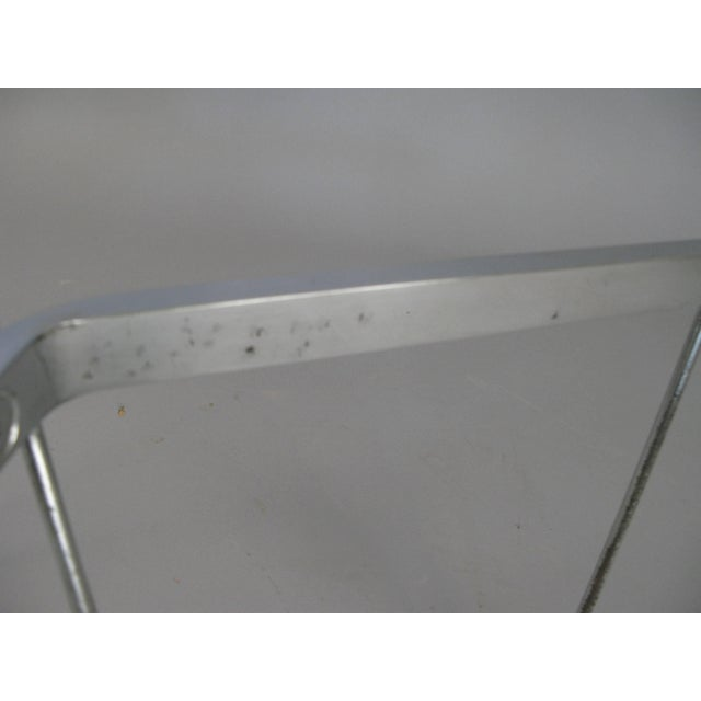 1960s Vintage 1960s George Nelson for Herman Miller Chrome and Glass Catenary Table For Sale - Image 5 of 9