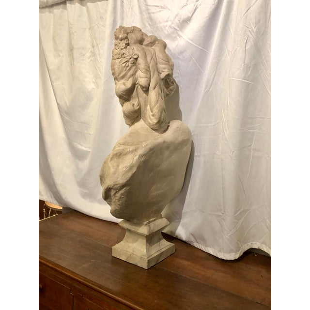 French Bust of Marie Antoinette For Sale - Image 3 of 7