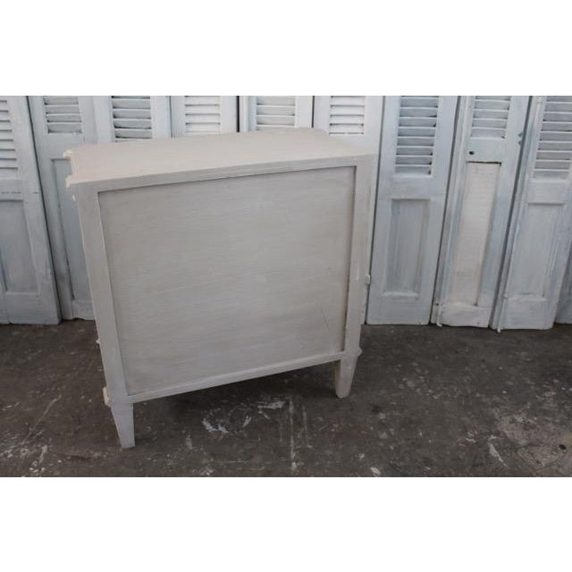 20th Century Swedish Gustavian Style Nightstands - A Pair For Sale - Image 10 of 11