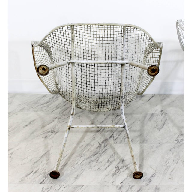 Mid-Century Modern Russell Woodard Sculptura Outdoor Patio Armchairs - a Pair For Sale In Detroit - Image 6 of 7