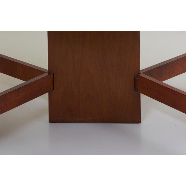 George Nelson Gate-Leg Dining Table Model 4656 by Herman Miller in Walnut For Sale - Image 6 of 13