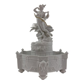 Dresden Centerpiece Featuring Diana, Goddess of the Hunt For Sale