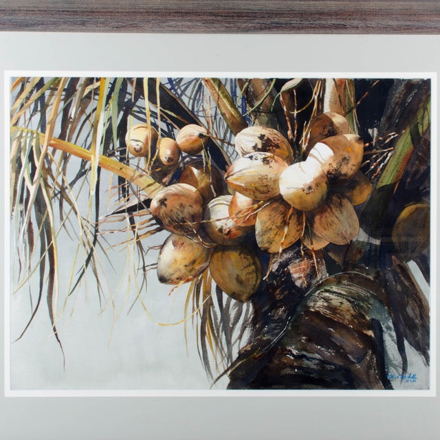 Gustavo Castillo Watercolors - A Pair For Sale In Savannah - Image 6 of 9