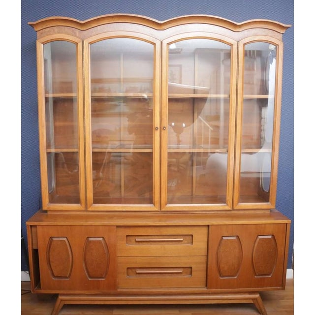 Mid-Century Modern China Cabinet - Image 2 of 10