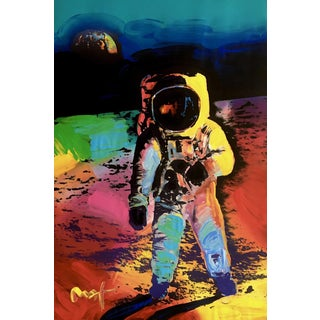 Peter Max Moonwalk 2009 For Sale
