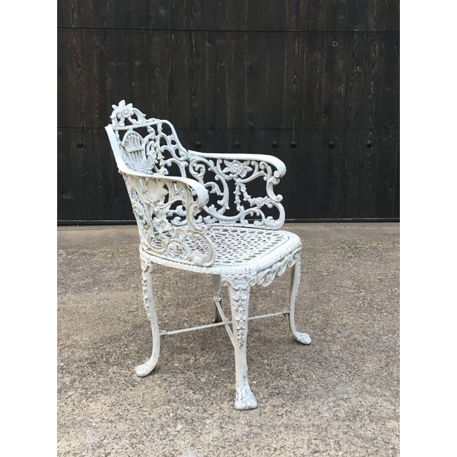 Robert Wood Foundry Cast Iron Seven-Piece Garden Set For Sale - Image 4 of 10