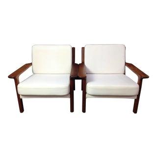 Mid-Cenury Modern Lounge Chairs - a Pair